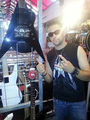 Esp  Esp Ltd Mp 200  Padge  Dennis Ktd  Esp Flying V  Esp V  Guitar  Gitarre 2