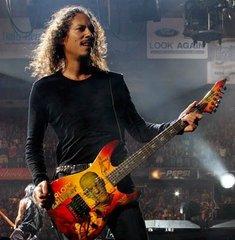 Metallica Kirk Hammett