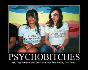 Psychobitches