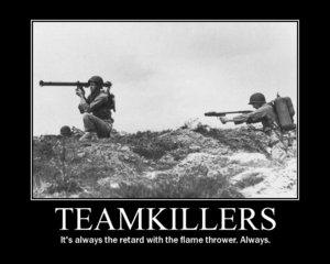 Teamkillerd