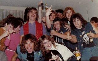 Ron Mc Govney Party Photo