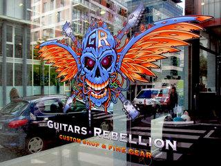 Guitars Rebellion Shop Front
