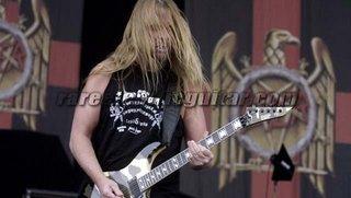 Esp Jeff Hanneman Guitar Urban Camouflage  2