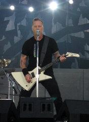 James Hetfield  Metallica   Sonisphere