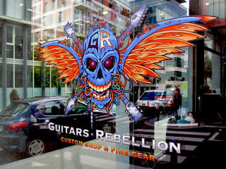 Guitars Rebellion Shop Front