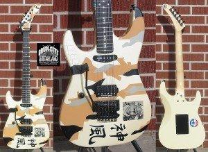 Esp Custom George Lynch Kamikaze Iii Left Handed 6 String Electric Guitar 300x219