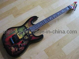 Esp Kh2 Karloff Mummy Electric Guitar