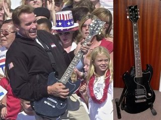 Esp Japan Custom Shop Ultratone Arnold Schwarzenegger