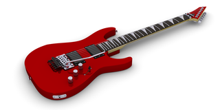 Electric Guitar (Superstrat Based On Esp Kh)