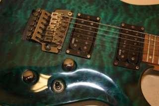 134440967 2007 Esp Ltd Mh 100qm Electric Guitar Ebay