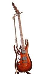 Esp Ltd Mh 350nt Dark Brown Sunburst Left Handed Emg 81 85 Electric Guitar 3