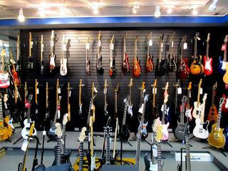 Electric Guitars Showroom