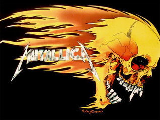 Metallica Skull And Flames Poster