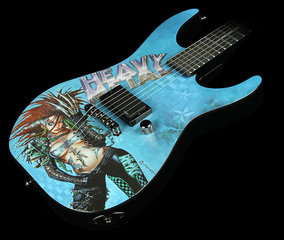 17791 Esp Ltd Hm Heavy Metal Graphic 1 Hm1146 1