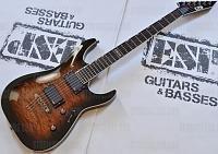 Esp Ltd Mh 350nt Guitar In Dark Brown 67363lar