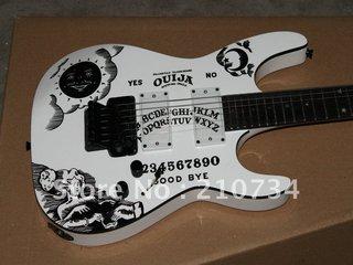 Font B Esp B Font Kirk Hammett Font B Ouija B Font White Electric Font