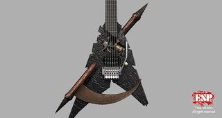 Esp Shinigami Guitar 02 By Anotheryou00 D507xe4