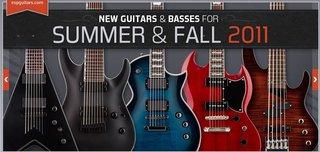 Esp Guitars 2011