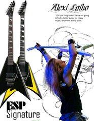 Alexi Laiho Esp Guitar Ad By Mc Killface
