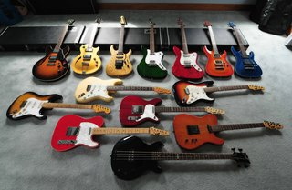 esp's with navigator and duncan strat