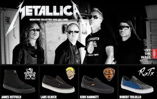 Metallica Vans