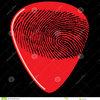 Fingerprint Guitar Pick 16836902