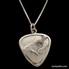 Guitar Pick Necklace1