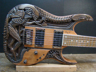 Alien Guitar 1