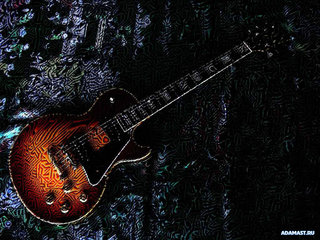 Cool Electric Guitar Wallpaper