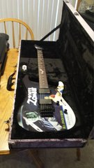 ESP LTD White Zombie