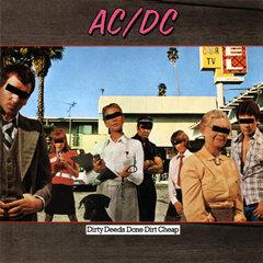 Ac'dc Dirty Deeds Done Dirt Cheap