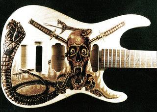 Custom Esp Guitar Dino Muradian