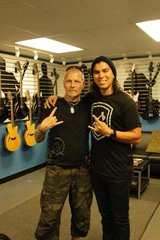 At the ESP HQ with Tony