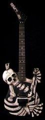 George Lynch's J. FROG Skull n' Bones ESP
