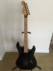1985 Kramer USA Baretta body (D series) with Warmouth neck