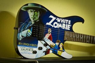 ESP 'White Zombie' Custom #1