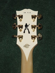 Gibson Les Paul Bullseye Headstock Back #712