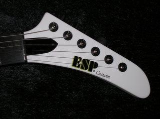 2006 ESP MX-250 Headstock