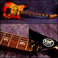 Overview of my ESP Mummy Guitar