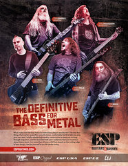 Esp Bass Players Ad