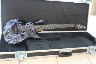 "ESP ""T"" Custom Shop Llexi Leon 7 String Horizon"