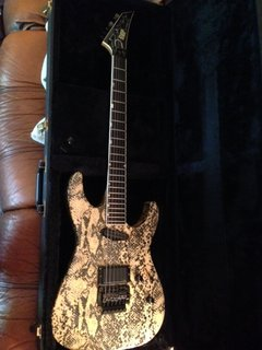 1985 ESP Snakeskin 48th Street Mirage Deluxe