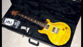 Prs Santana III 10 too from 2003 beautiful Brazillian guitar