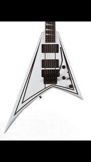 Jackson RR1 with original Floyd rose and custom to kirks Rhodes guitar 2013 Jackson custom