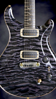 Prs Pauls guitar in purple mist quilted limited run of 50