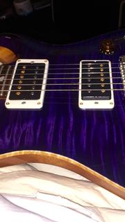 Custom p24 rare custom purple wide flame quilt amazing top 2013 piezo