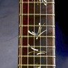 Ps#5042 ivory side dots purfling 2015 one off of the limited run of 50 with black brw fretboard chaltecoco pernembuco neck 14kt gold n ivory custom brushstroke inlays this one is in black raspberry
