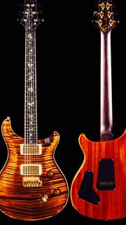 Prs ps custom tree of life 2014 guitar brw neck