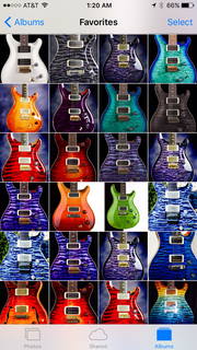 Prs private stock collection private stock lets runs ps custom inlays