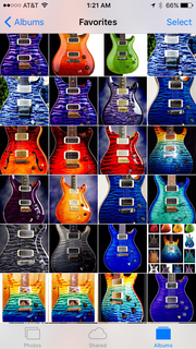 My top Prs private stocks tops all in like new condition